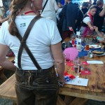 Lederhosen on high heels